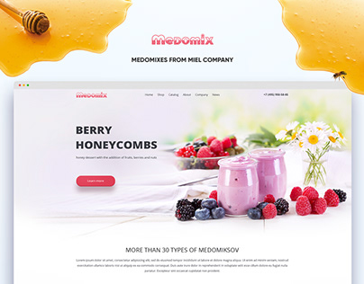 "Honey and berries ""medomix"""