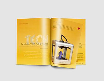 Resource Magazine Layout