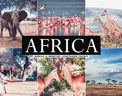 Free Africa Mobile & Desktop Lightroom Preset