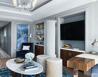 Langham Hotel Harmony Suite Painting