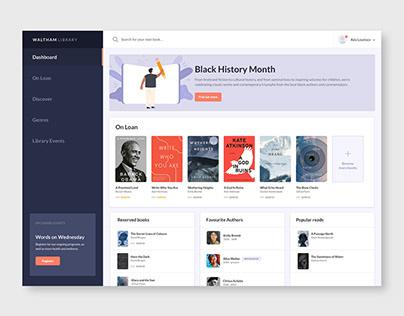 Library Dashboard