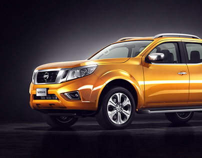 3D model of Nissan Navara Np300