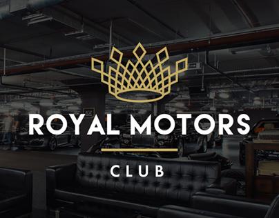 Corporate Identity «Royal Motors club»