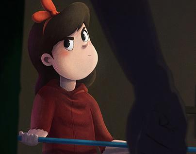 Red Fury | Narrative Digital Painting