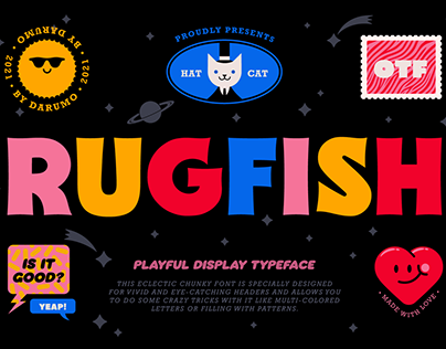 Rugfish - Playful Display Font