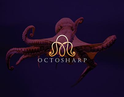 Octosharp logo design