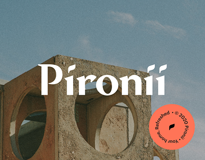Pironii — For the home and the soul