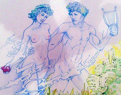 Orpheus et Eurydice