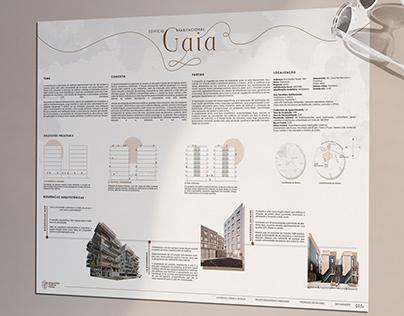 Projeto Habitacional Gaia / Pranchas