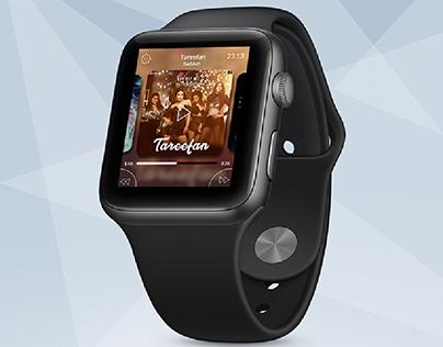 Music Player - Apple Watch UI