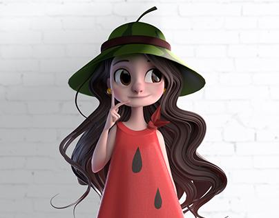 Watermelon Girl