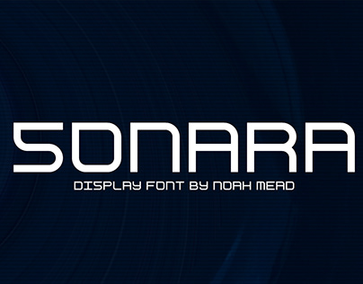 Free Sonara Unique Display Font Family