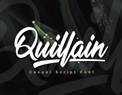 Quillain A Casual Script Font
