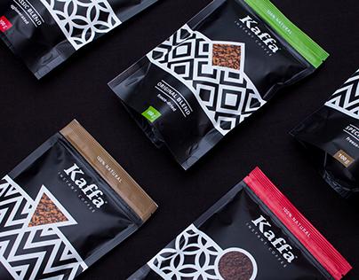 Kaffa Instant Coffee Packaging
