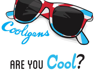 Art of Cool: Cooligans Branding Pitch Materials