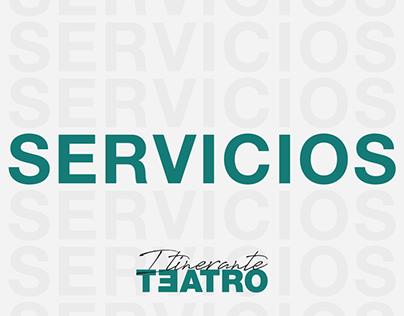 Design Icons - ITINERANTE TEATRO