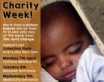 Sleeping Baby - Charity Week Poster
