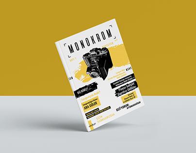 'Monokrom' Magazine Design