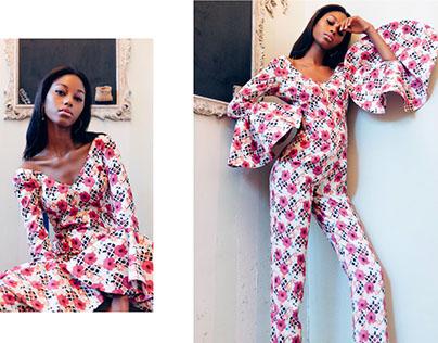 Designer Nisha Sainani Campaign