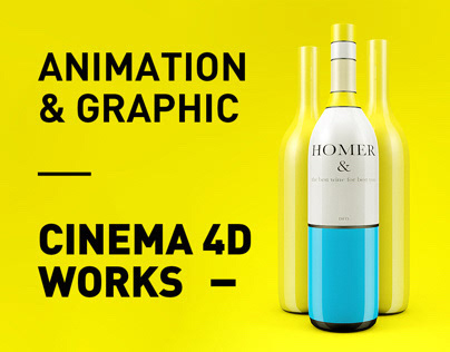 Cinema 4D Works - Animation & Graphic