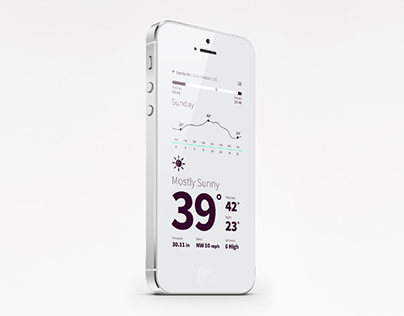 Weather | Mobile App