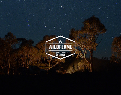 Wildflame Outdoors Web Design Concepts