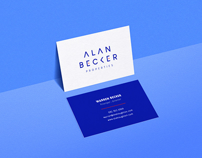Alan Becker Logo & CI Design