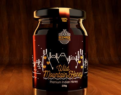 Bee Made - Premium Indian Honey Branding