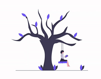 Tree Swing Animation