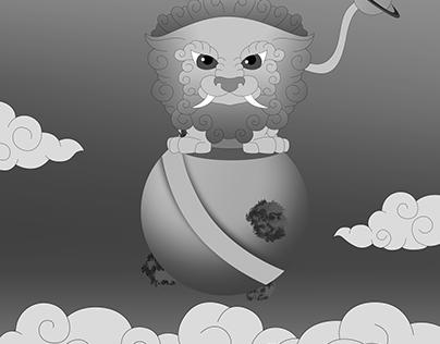 Lion illustration (Commission)