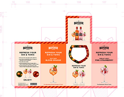 Vessels and packaging design and visuals for alcohol