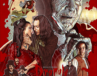 BRAM STOKER'S DRACULA alternative movie poster