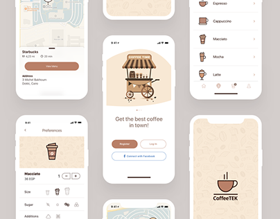 Coffee App Freebie