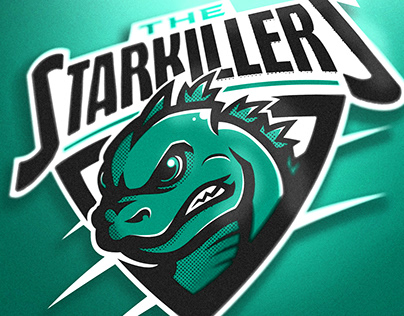 The Starkillers mascot logo