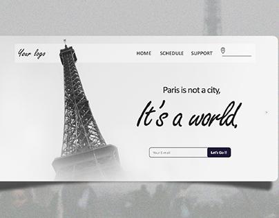 Web Banner Travel Agency