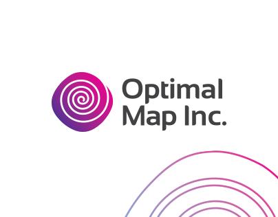 Optical Map Inc. Logo design