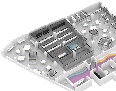 Oficinas para empresa _____ de Ciberseguridad