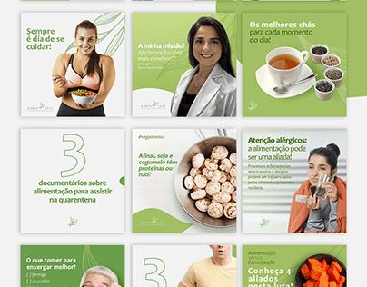 Social media- Nutricionista