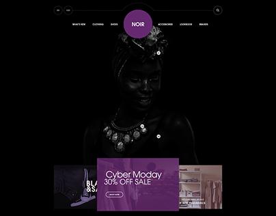 Noir Shop Concept