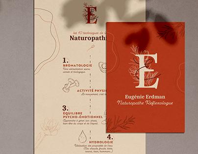 Identité visuelle - Eugénie Erdman N