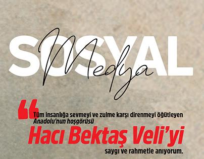 Yenişehir Belediyesi Sosyal Medya Tasarımı & Yönetimi