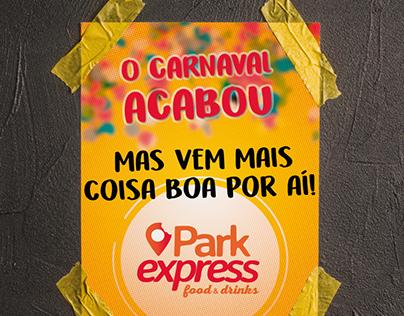 Cards de Social Media para a empresa Park Express