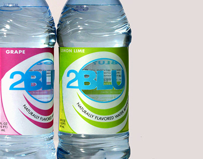 2Blu Naturally-Flavored Water