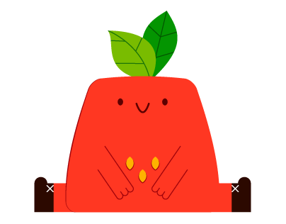 Strawberry buddy - Social Messenger app stickers