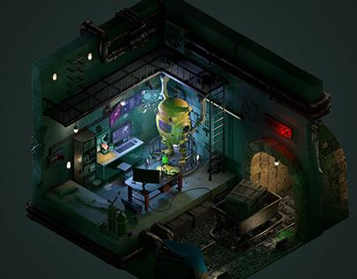 3D Room Deisgn - Registance's Laboratory