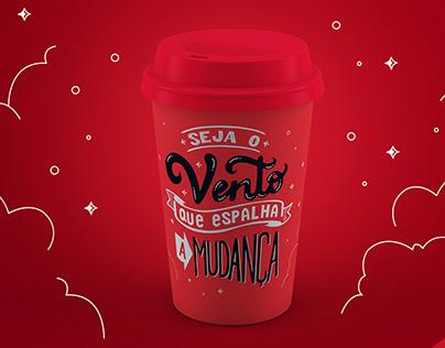 Copo Brinde Convenção de Vendas - Henry Schein Brazil