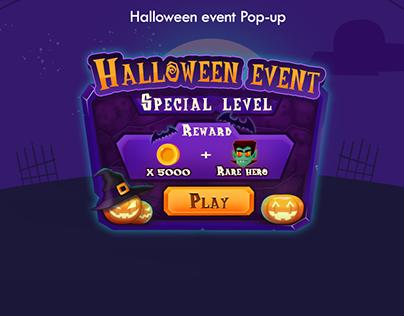 Halloween event Pop-up