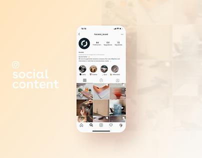 Big Data Social Content