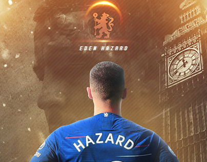 'Eden Hazard' - Lockscreen Wallpaper