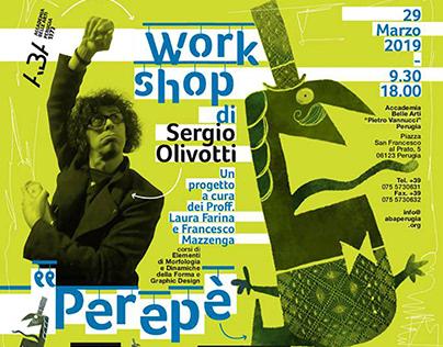 Workshop con Sergio Olivotti / Marzo 2019